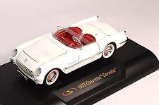 Chevrolet corvette 1953 1:32 signature 32429 neuf blanc