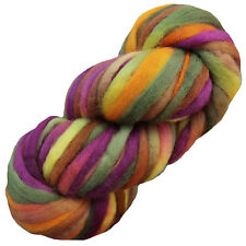 Super Zippy SUPER BULKY WOOL KNITTING YARN Living Dreams hand dyed chunky MUMS