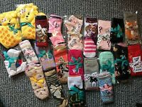 LADIES CHILDRENS CLOTHES SOCKS GIFT WRAPPED NEW GIRLS BOYS BABY