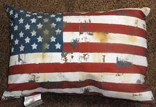 American Flag Patriotic Climaweave Indoor/Outdoor Pillow