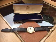 Solid 9K Gold Omega Men's Dress Watch 1977