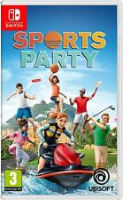 Sports Party Nintendo Switch Game 3 Years