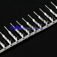 100Pcs Male Pin Connector for Dupont Jumper Wire Cable 2.54mm Pitch