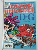 "Official Handbook of the Marvel Universe #4 ""D-G"" Apr. 1983 Marvel Comics"