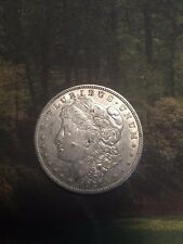 1921 MORGAN SILVER DOLLAR COIN CIRCULATED IN GOOD COLLECTIBLE CONDITION