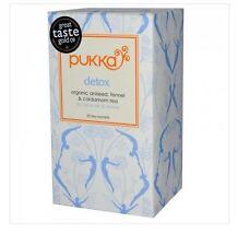4 x 20 Tea bags PUKKA Detox ( 80 bags in total )