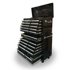 421 US PRO Tools Black Steel Chest Box Snap cabinet tool box FINANCE AVAILABLE