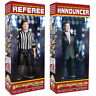 Special Deal: Talking Referee & Ring Announcer For WWE Wrestling Action Figures