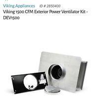 Viking DEV1500 Exterior Power Ventilator Kit 1500 CFM Retail $1559