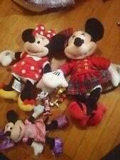 New listing Minnie Mouse Disney Lot plush, figurines