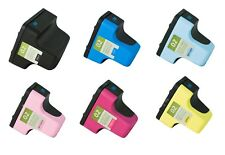 6 Pack HP 02 Ink Cartridges for PhotoSmart C7280 3310 D7360 D7160 8250