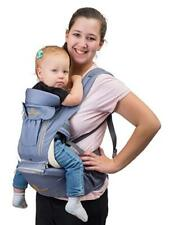360° Baby Carrier with Hip Seat – 8 Comfortable Positions to Carry Baby/Toddler