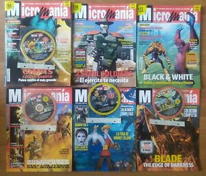 Micromania Micro Mania Tercera Epoca XVI 71 y XVII 73 ó 74 + CDs y Suplementos