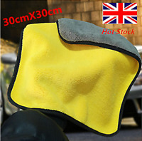 Microfiber Car Care Polishing Wash Towels Plush Washing Drying Clean Towel New
