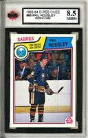 1983-84 OPC #65 Phil Housley RC Graded 8.5 NMM+ 90697316 (*062319-53)