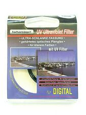 2 x Bilora UV Ultraviolet Filter Ø 43 mm Low Profile hartversiegelt 7009-43 OVP