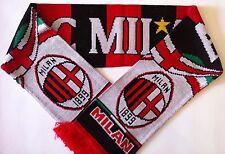 AC MILAN Football Scarves New from Soft Luxury Acrylic Yarns