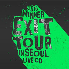 WINNER-[2016 WINNER EXIT TOUR IN SEOUL LIVE] 2CD+2p POSTER+Book+Card+Tracking
