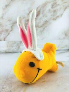 Goldfish Crackers Bunny Rabbit Ears Plush Doll Bean Bag