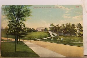 Georgia GA Macon BP O'Neal Home Postcard Old Vintage Card View Standard Souvenir