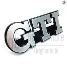 VW Schriftzug Emblem GTI vorne Kühlergrill Golf 2 MK 2 ab 88 5 Rippen 191853679L