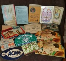 Lot of Vintage Sewing Needle and advertising booklets