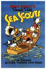 SEA SCOUTS Movie POSTER 27x40 B Clarence Nash