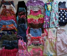 Girls Size 2T / 24 Months Summer Clothes Lot of 33 Clothes L2-19
