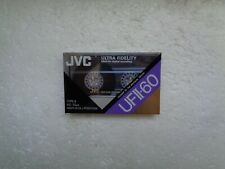 Vintage Audio Cassette JVC UFII-60 * Rare From Switzerland 1990 * For Collector