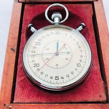 ULTRA RARE Soviet Military Stopwatch Slava 2MCHZ USSR 1962 Vintage Chronometer