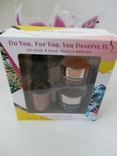 Josie Maran 3 Step Argan Makeup Prep Oil Face Butter Finishing Balm New Boxed