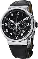 Ulysse Nardin Marine Chronograph 43mm New With Tags and Box. Model 1503-150.