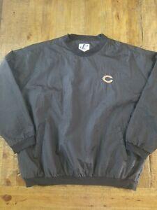 Vintage Logo Athletic Chicago Bears Pullover/Windbreaker Mens Size 2XL EUC