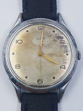 Tropical vintage 1940's Tissot Antimagnetique Watch 66722 Large 38.4mm Serviced!