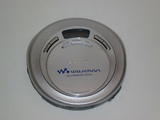 VINTAGE Sony D-EJ621 CD Player w/ AVLS G-Protection Silver EUC **Free Shipping**