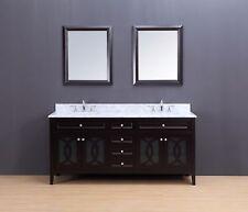"Bathroom Vanity - Transitional Bathroom Vanity Set - Double Sink - Rocca 72"""