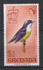 Birds on Stamps - Grenada 1968 SG3181 Bananaquit