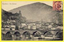 CPA France 34 - ROQUEBRUN (Hérault) Vue Générale E. DUVIVIER à LANGRUNE sur MER