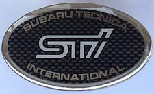 SUBARU IMPREZA WRX/STI GEL Tipo griglia Badge (102mm x 50mm)