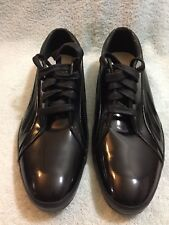 Puma Black Label Mens Patent Sneakers Black Color Size Us 10