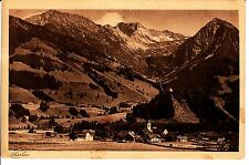 Pescare Algovia AK 1922 panorama Alpi Baviera 1502325