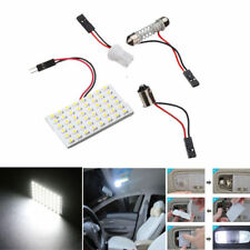2Pcs T10 4W 48 SMD Car Vehicle LED HID Dome Map Light Bulb Interior Panel Lamp