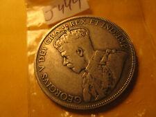 Canada 1931 Rare Keydate 50 Cent Silver Coin IDJ444.