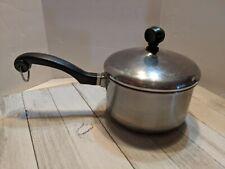 Farberware Stainless Steel Sauce Pan 1 Qt. Quart Aluminium Clad #1
