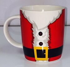 Christmas Santa Belt Porcelain Mug
