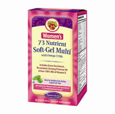 Womens 73 Nutrient Multi with Omega 3 Nature's Secret 60 Softgel