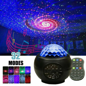 LED Sternenhimmel Projektor Nachtlicht Galaxy Starry Mond Stern Atmosphäre Lampe