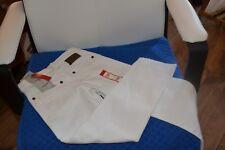 pantalon neuf cyrillus 6 ans jean blanc ideal pour ete