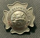 Vintage Retired, MONMOUTH BEACH FIRE CO. NO.1, N.J., Fireman Badge