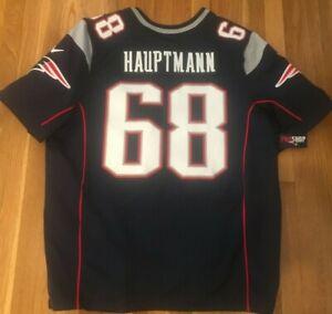 PHOTO MATCHED Hauptmann New England Patriots Auth Event Worn Nike Elite Jersey